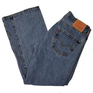 Levis 501 Button Fly Classic Jeans Size 32 x 29